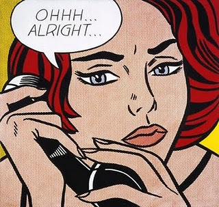 Roy Lichtenstein Ohhh Alright la otra