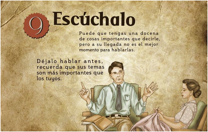 10.Escuchalo esposa ideal machismo