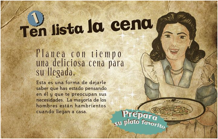 2.cena esposa ideal machismo
