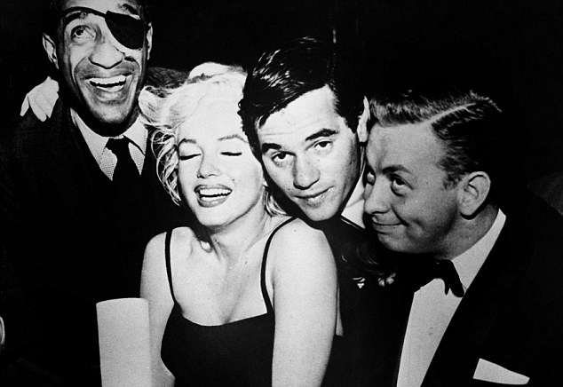 marilyn monroe friends